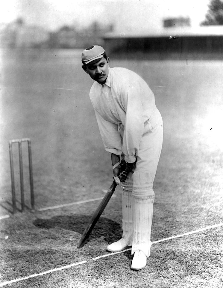 circa 1900: Indian cricketer Kumar Shri Ranjitsinhji (1872 - ). (Photo by Reinhold Thiele/Thiele/Getty Images)