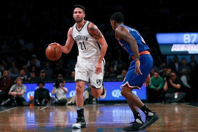 Greivis Vasquez played three games for the Nets. (Getty Images)
