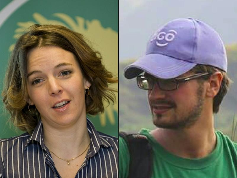 UN experts Zaida Catalan and Michael Sharp were killed in Kasai, DR Congo, in March