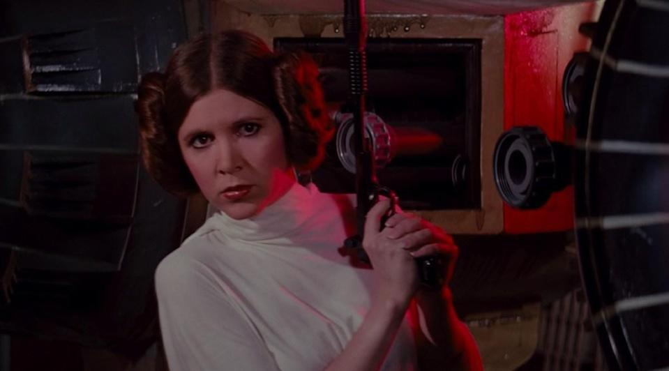 "<em>Star Wars</em> may have taken place ""a long time ago in a galaxy far, far away,"" but the movie-makers responsible for coming up with <a href=""https://www.ripleys.com/weird-news/princess-leias-hair/"" rel=""nofollow noopener"" target=""_blank"" data-ylk=""slk:Princess Leia's iconic hairstyle"" class=""link rapid-noclick-resp"">Princess Leia's iconic hairstyle</a> for the film were inspired by some very real-life warriors. In particular, the <em>soldaderas</em>, or the female Mexican rebels who fought against the dictatorship of <strong>Porfirio Díaz</strong> around the beginning of the 20th century. It's believed that director <strong>George Lucas</strong> based Leia's double buns on a picture of <a href=""https://www.pri.org/stories/2016-12-29/little-known-link-between-princess-leia-s-iconic-hairstyle-and-mexican-revolution"" rel=""nofollow noopener"" target=""_blank"" data-ylk=""slk:Clara de la Rocha"" class=""link rapid-noclick-resp""><strong>Clara de la Rocha</strong></a>, who was a colonel in the Mexican Revolution."
