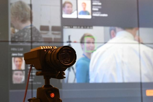 A camera used during trials at Scotland Yard for the new facial recognition system (Stefan Rousseau/PA)