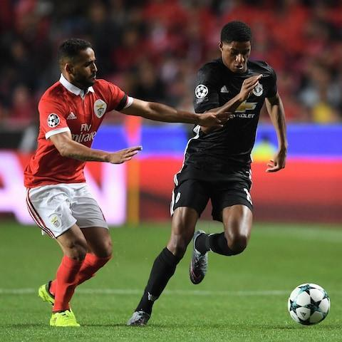 Aitor Karanka is close to making another huge statement of intent with the capture of Gil Bastiao Dias, the highly-rated Monaco winger. Dias is having a medical at Forest's training ground later on Friday and is set to sign on loan for the season with the Championship club. The Portugal under-21 international impressed last season on loan at Fiorentina and has a market value of around £17.5million, with Forest inserting an option to buy him permanently into the deal. Karanka has already smashed Forest's transfer record with the £13.2m signing of Benfica midfielder Joao Carvalho and the signing of Dias is seen as another big coup for the east Midlanders. Forest have secured the signature of Joao Carvalho, seen here tracking Marcus Rashford in the Champions league last October Credit: Laurence Griffiths/Getty Images Dias could have his move confirmed in the next 48 hours, ahead of Forest's return to pre-season training on Monday. Forest have also signed Benfica winger Diogo Goncalves on loan while former England international Michael Dawson has joined on a free transfer. Karanka is also targeting another striker, with Bournemouth's Lewis Grabban high on his list.