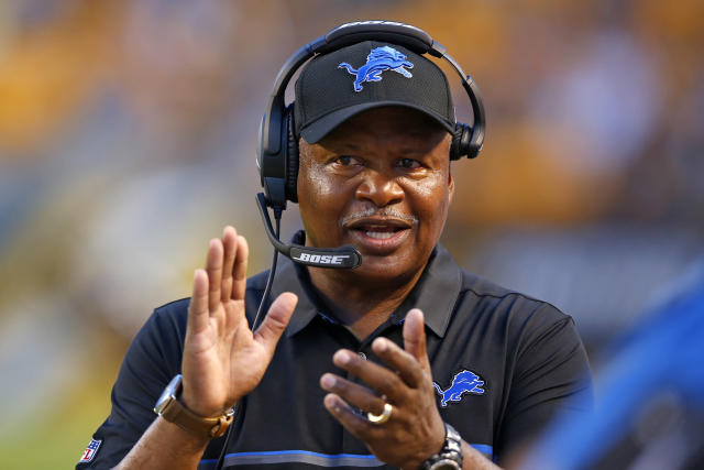 Former Detroit Lions head coach Jim Caldwell is expected to join the Miami Dolphins coaching staff if, as expected, Miami hires Brian Flores as head coach. (AP)
