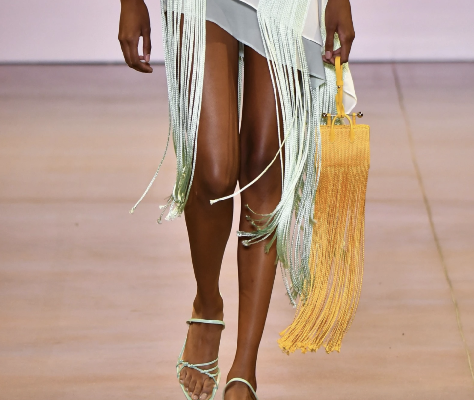 PHOTO: Strathberry. Miniature Fringe Tote