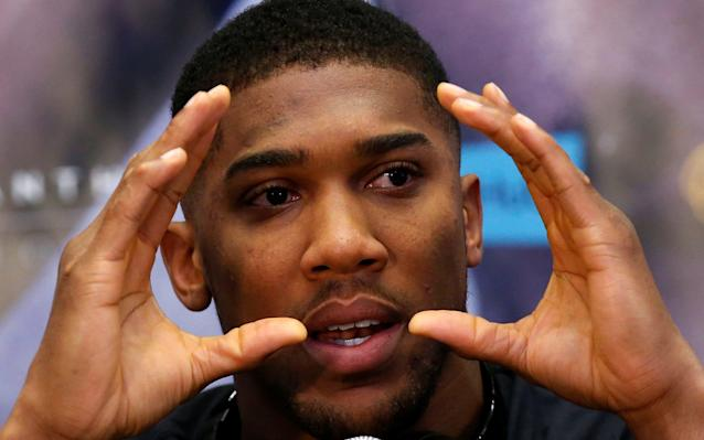 Anthony Joshua has been working on his defensive skill