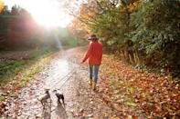 <p>This one should come as no surprise. Getting fresh air and walking it out are two of the best ways to claw back at stress. Whether you need a quick 10 minute jaunt around the block, or you require an hour walk to the nearest body of water, walking and breathing are great ways to keep stress at bay. </p>