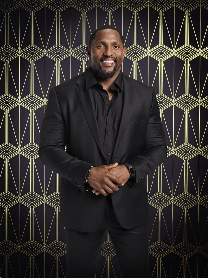 Talk about a favorite! NFL Hall of Famer Ray Lewis's <em>DWTS</em> odds are the best of all the cast members: 4-1. (Photo: ABC/Justin Stephens)