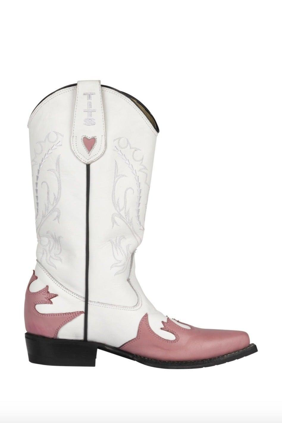 """<br><br><strong>Tits Store</strong> Jolene Boots, $, available at <a href=""""https://www.tits-store.com/jolene-boots.html"""" rel=""""nofollow noopener"""" target=""""_blank"""" data-ylk=""""slk:Tits Store"""" class=""""link rapid-noclick-resp"""">Tits Store</a>"""