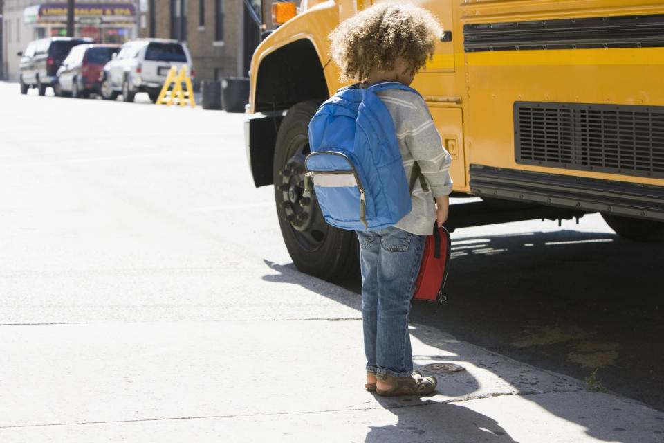 A driver who left a sleeping second grader on the school bus all day is now under investigation. (Photo: Getty Images)