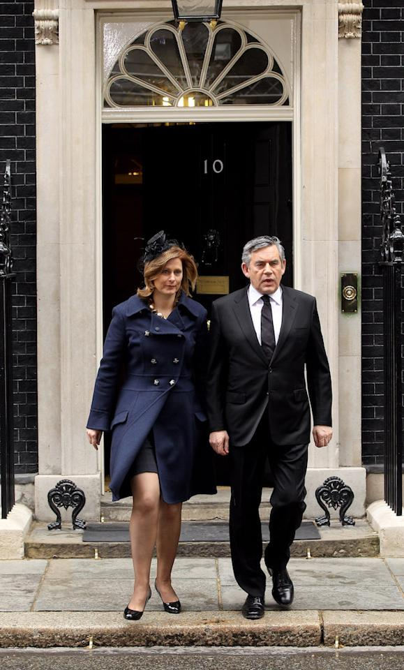 Before meeting husband and future Prime Minister, Gordon Brown, Sarah worked in PR and founded her own agency called Hobsbawm Macaulay Communications. But it's her charity work which Brown is most famous for, as she works tirelessly to help support women who experience complications in pregnancy. It's a topic close to her heart, as she lost daughter Jennifer due to premature birth. Brown later went on to set up the Jennifer Brown Research Laboratory in her name. <em>[Photo: Getty]</em>