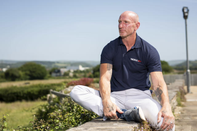 Gareth Thomas revealed in September he was HIV positive (James Robinson/Beat Media Group)
