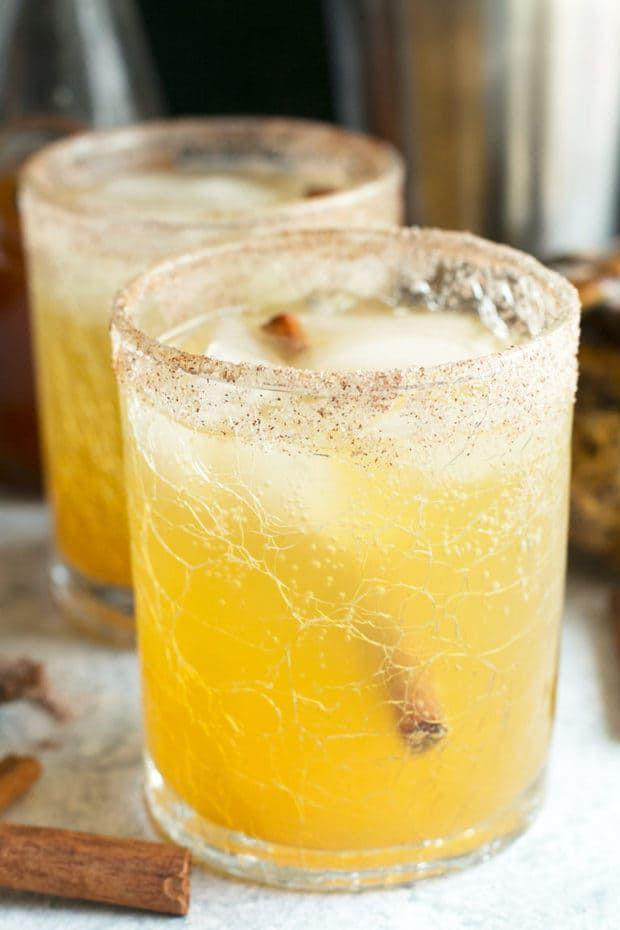 """<p>You'll love the homemade pumpkin simple syrup in this bourbon cocktail. </p><p><strong>Get the recipe at <a href=""""https://www.cakenknife.com/bourbon-pumpkin-smash/"""" rel=""""nofollow noopener"""" target=""""_blank"""" data-ylk=""""slk:Cake 'n Knife"""" class=""""link rapid-noclick-resp"""">Cake 'n Knife</a>.</strong></p><p><a class=""""link rapid-noclick-resp"""" href=""""https://go.redirectingat.com?id=74968X1596630&url=https%3A%2F%2Fwww.walmart.com%2Fip%2F3-Piece-Cocktail-Shaker-Stainless-Steel-16-oz%2F116981031&sref=https%3A%2F%2Fwww.thepioneerwoman.com%2Ffood-cooking%2Fmeals-menus%2Fg33510531%2Ffall-cocktail-recipes%2F"""" rel=""""nofollow noopener"""" target=""""_blank"""" data-ylk=""""slk:SHOP COCKTAIL SHAKERS"""">SHOP COCKTAIL SHAKERS</a> </p>"""