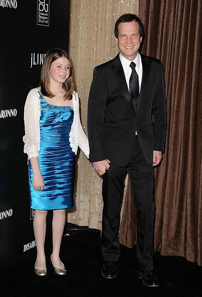 """Ginnifer's """"Big Love"""" co-star Bill Paxton brought his 13-year-old daughter Lydia as his date. Cute! Steve Granitz/<a href=""""http://www.wireimage.com"""" target=""""new"""">WireImage.com</a> - February 22, 2011"""