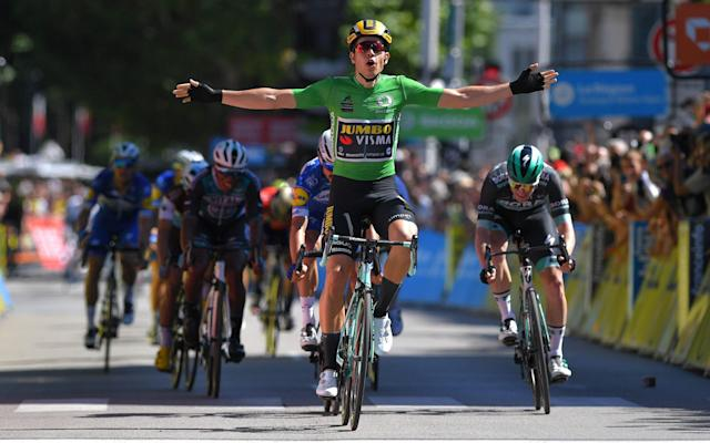 Wout van Aert claimed his second stage victory - Velo