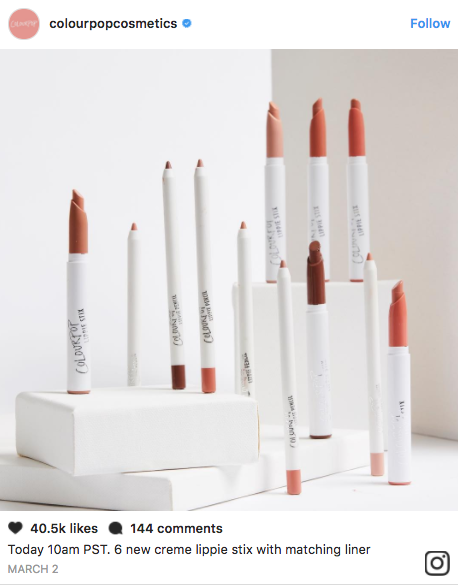 For the current ColourPop site wide sale, you can get 20 percent off of all your favorite makeup and try some new ones, too.