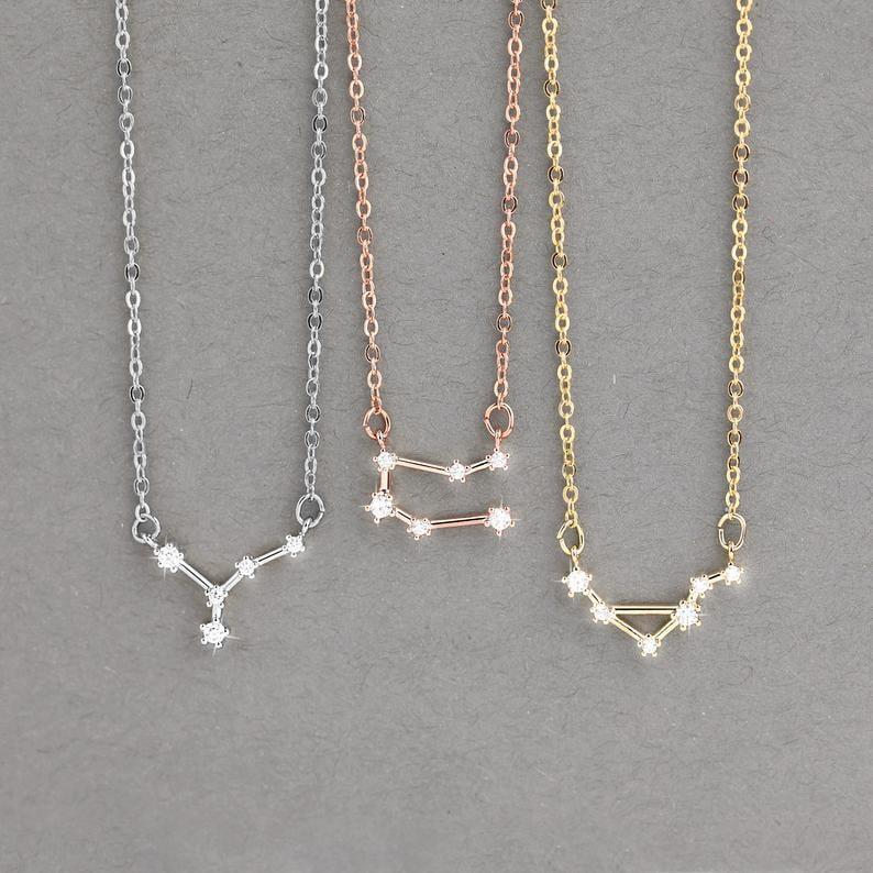 <p>If you love the stars and have an interest in astrology, the <span>Personalized Zodiac Necklace</span> ($19, originally $27) is perfect for you!</p>