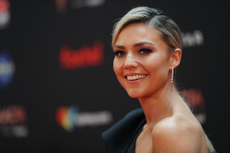 Sam Frost attends the 2019 AACTA Awards Presented by Foxtel at The Star on December 04, 2019 in Sydney, Australia.  (Photo: Don Arnold via Getty Images)
