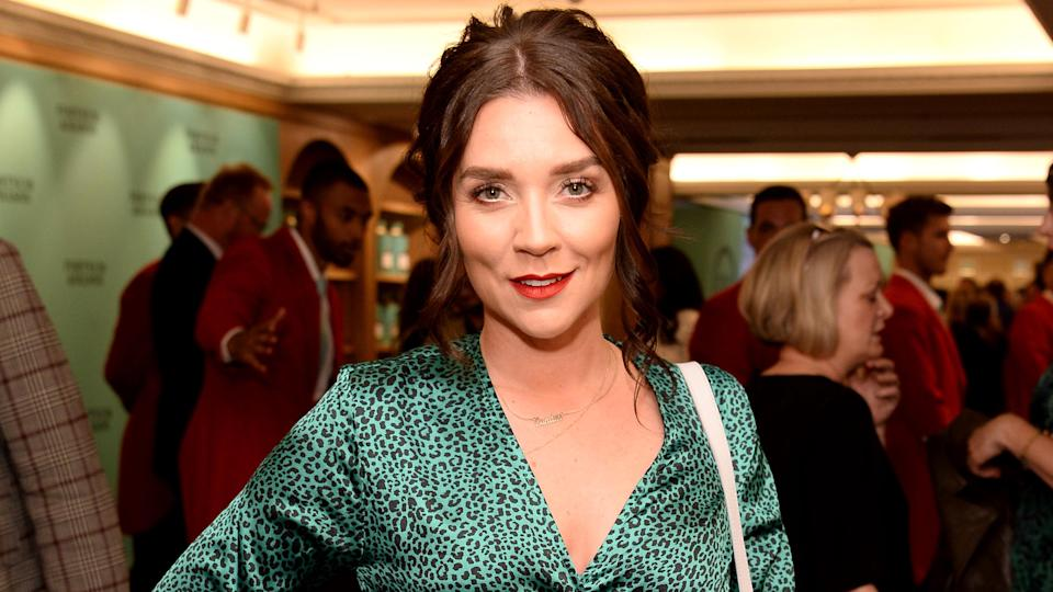 Candice Brown attends the Fortnum & Mason Food & Drink awards, held at Fortnum & Mason