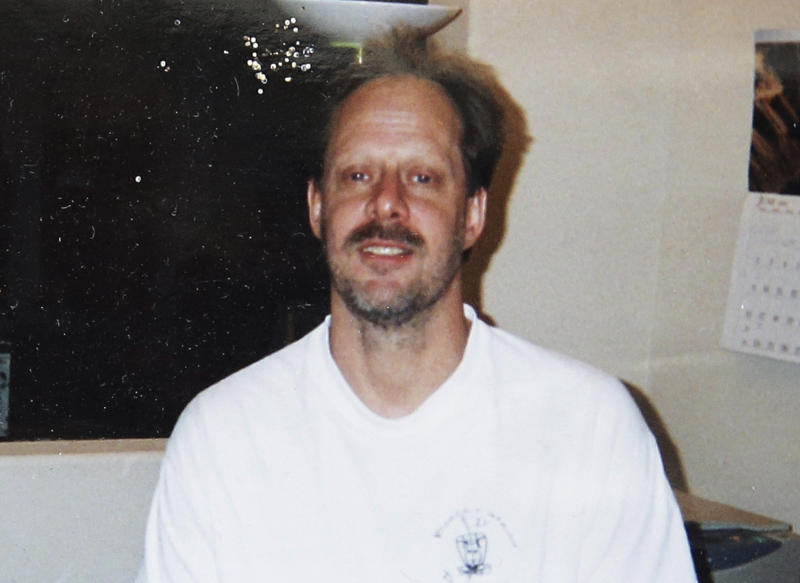 FILE - This undated photo provided by Eric Paddock shows his brother, Las Vegas gunman Stephen Paddock. On Sunday, Oct. 1, 2017, Stephen Paddock opened fire on the Route 91 Harvest Festival killing dozens and wounding hundreds. Paddock spent hours in casinos. and was known for betting big on video poker and staring down fellow gamblers. There is no indication, though, that any particular grievance set him off. But details that have surfaced so far about the one-time IRS agent and son of a notorious bank robber, are clues, at least, to his mindset. (Courtesy of Eric Paddock via AP)