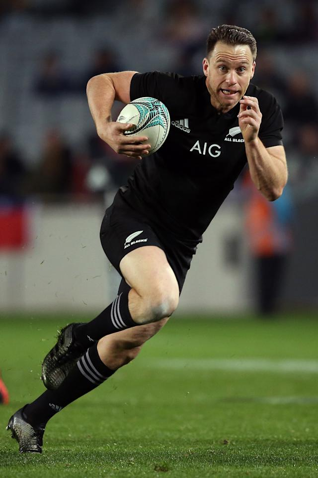 Out for series: New Zealand fullback Ben Smith (AFP Photo/MICHAEL BRADLEY)