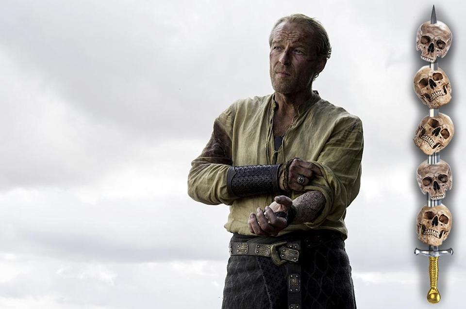 <p>If the grayscale doesn't kill him, it's a fair bet that he'll do something stupid to win Dany's love and die in the attempt. How is this guy related to eternal badasses Jeor and Lyanna Mormont?<br><br>(Photo Credit: HBO) </p>