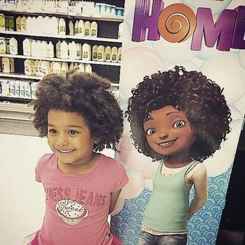 Rihannas Home Character Is The Natural Hair Idol Little
