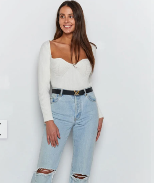 Be Mine Long Sleeve Top Beginning Boutique