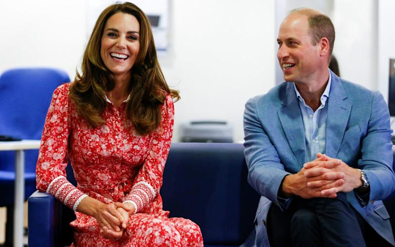 The Duke and Duchess of Cambridge visit the London Bridge Jobcentre - PA