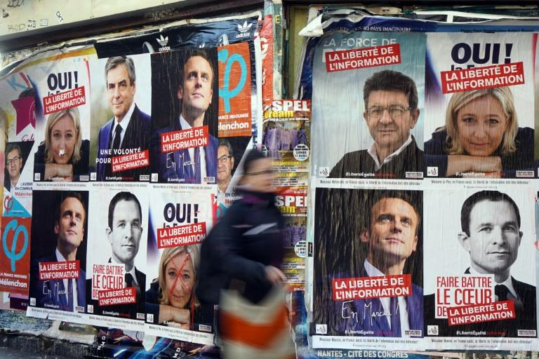 The outcome of the French election race is seen as too close to call