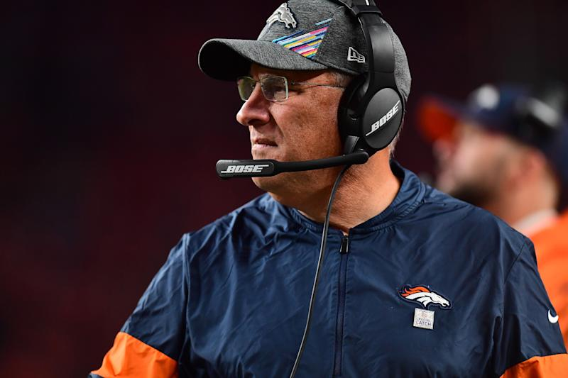 A gamble from Vic Fangio's Broncos early against the Chiefs did not go well. (Reuters)