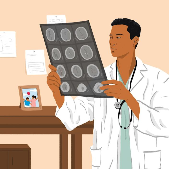 """There are so many misconceptions when it comes to the brain. Dr. Rahul Jandial, a neurosurgeon and author of <a href=""""https://www.amazon.com/Neurofitness-Science-Performance-College-Dropout/dp/132896924X"""" rel=""""nofollow noopener"""" target=""""_blank"""" data-ylk=""""slk:Neurofitness"""" class=""""link rapid-noclick-resp"""">Neurofitness</a>, explains what parents should actually focus on."""