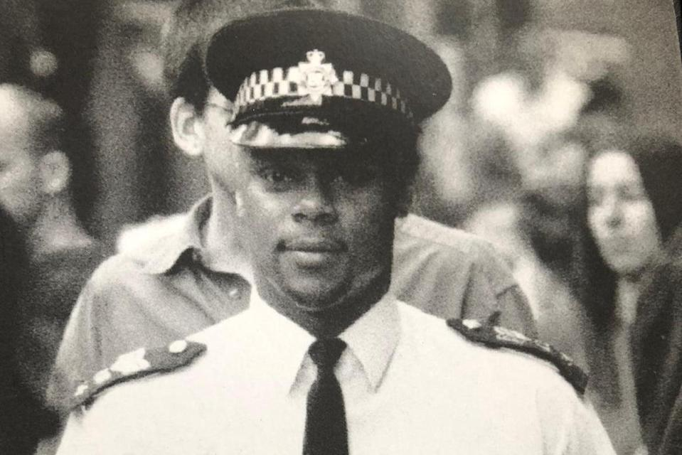 Rhoden served in the police for three decades (c/o George Rhoden)