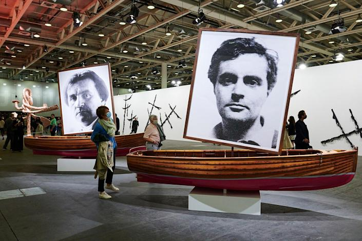 ABB21, Unlimited, The Mayor Gallery, M77 Gallery, Braco Dimitrijevic, at Art Basel in Basel 2021