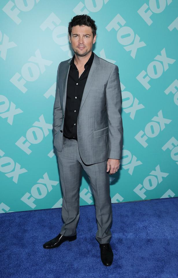 NEW YORK, NY - MAY 13: Karl Urban attends FOX 2103 Programming Presentation Post-Party at Wollman Rink - Central Park on May 13, 2013 in New York City.  (Photo by Ilya S. Savenok/Getty Images)