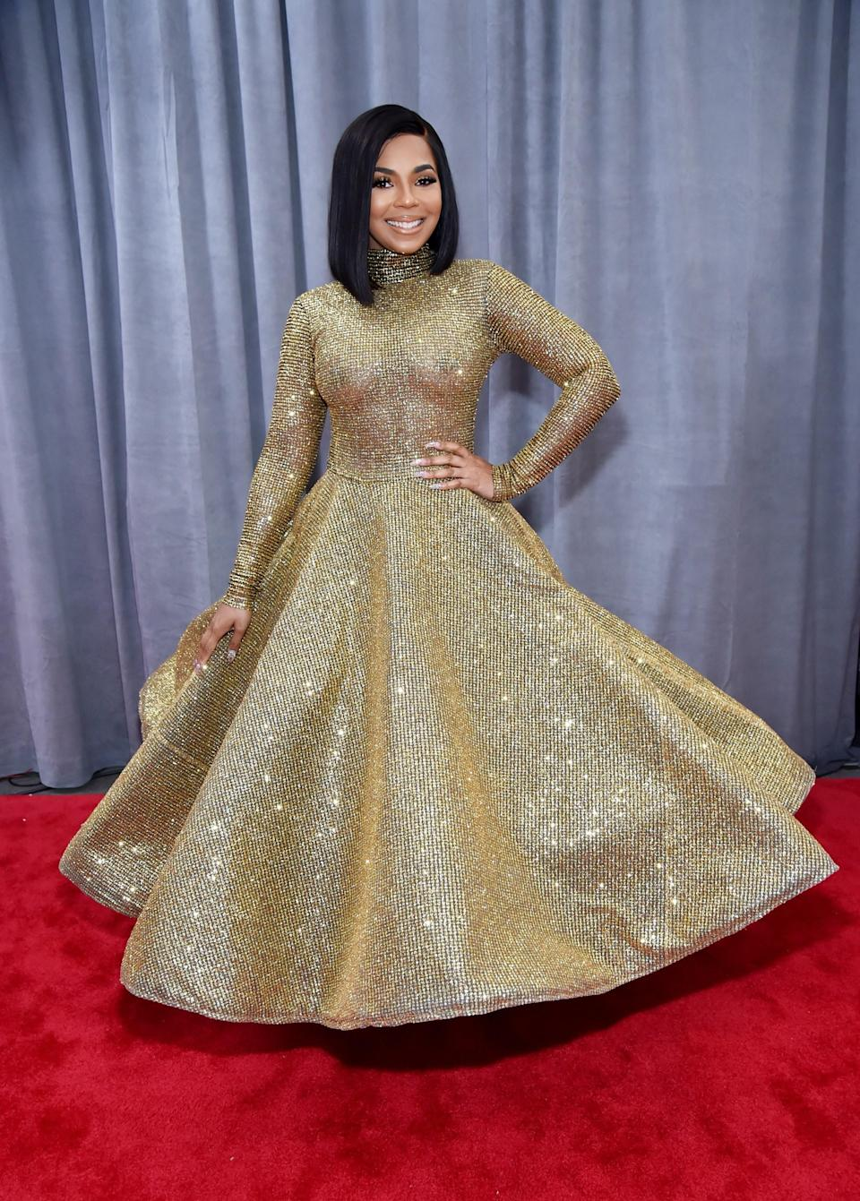 """<h1 class=""""title"""">Ashanti in Yas Couture by Elie Madi</h1><cite class=""""credit"""">Photo: Getty Images</cite>"""