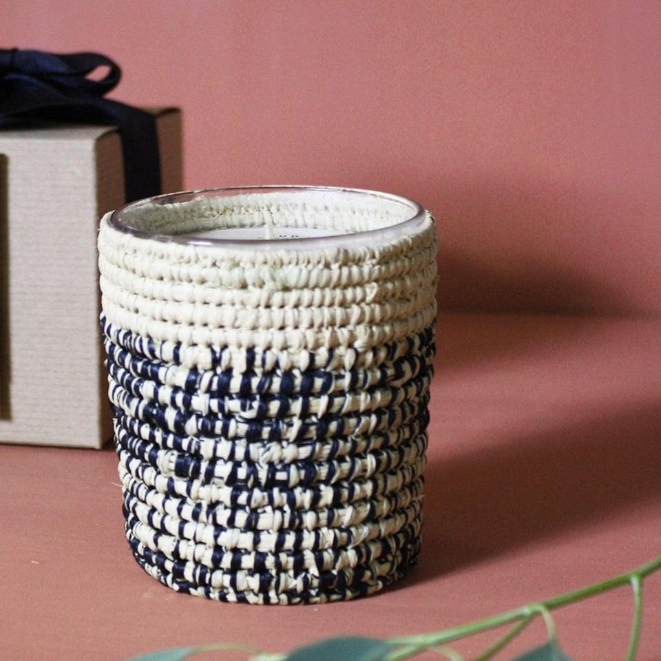 <p>The <span>Moroccan Scented Candle</span> ($50) will add so much texture to their home. </p>