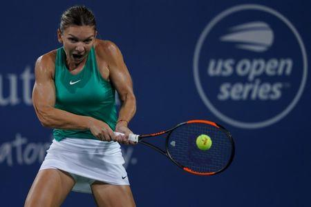 Halep beats Barty in first of two matches in Cincinnati