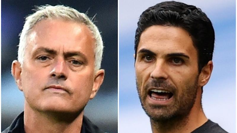 Jose Mourinho puts affection for Mikel Arteta to one side ahead of derby