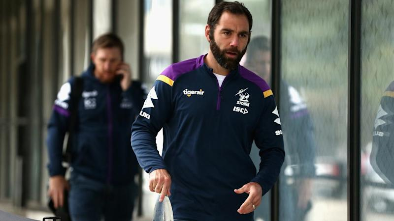 Cameron Smith and his Melbourne teammates are set to train in the NSW regional city of Albury