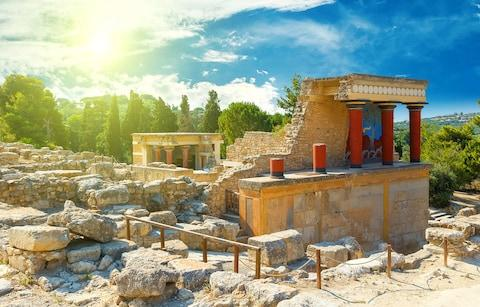 Palace complex in Knossos - Credit: Vladimir_Timofeev