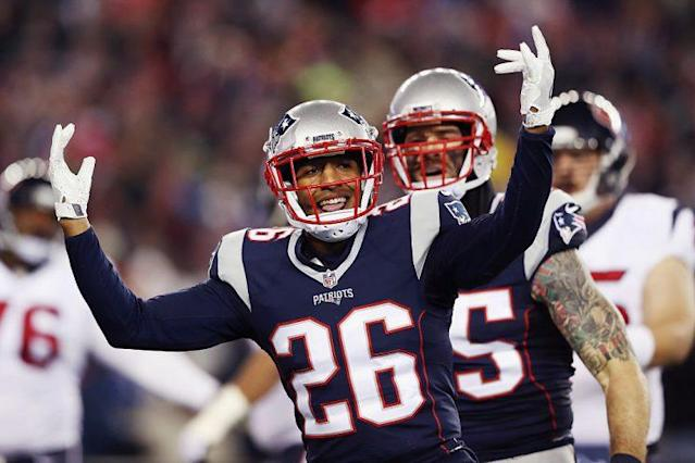 Logan Ryan (L) has millions of reasons to celebrate. (Getty)
