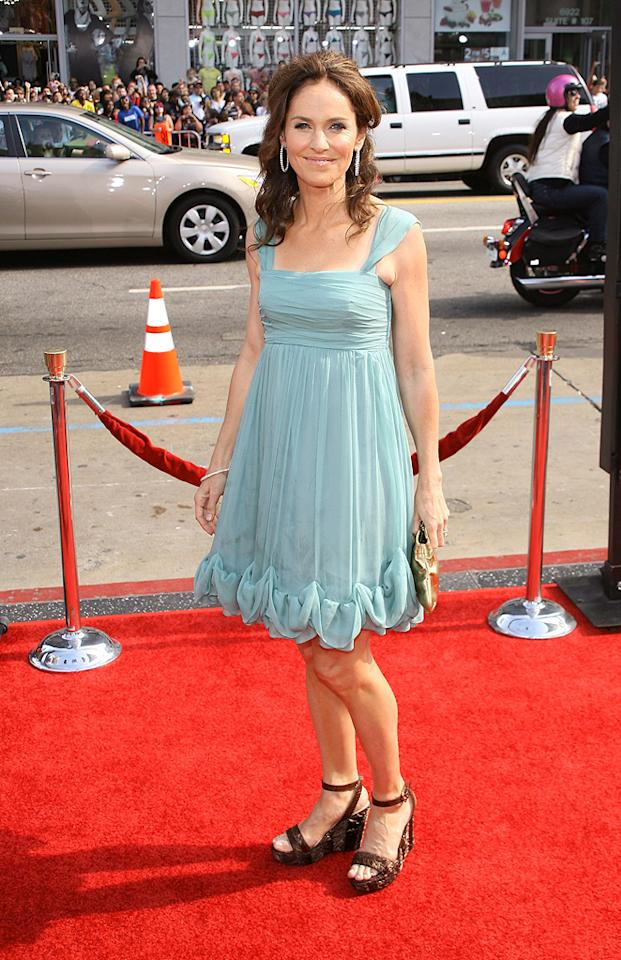 """<a href=""""http://movies.yahoo.com/movie/contributor/1800020872"""">Amy Brenneman</a> at the Los Angeles premiere of <a href=""""http://movies.yahoo.com/movie/1809953162/info"""">Land of the Lost</a> - 05/30/2009"""