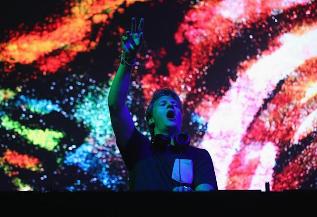 <p>Matoma performs onstage during the 2017 Panorama Music Festival at Randall's Island on July 29, 2017 in New York City. (Photo by Monica Schipper/Getty Images for Panorama) </p>