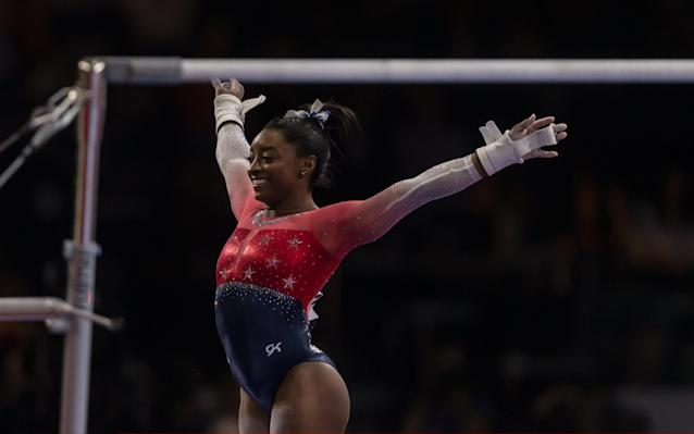 Simone Biles now has 15 gold medals to her name - six more than anyone else - Getty Images Europe