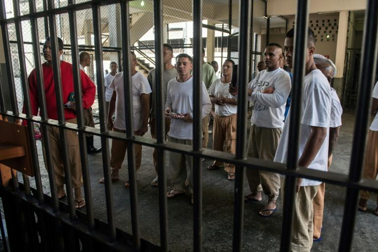 Like many Brazilian prisons, Adriano Marrey is hugely overcrowded, holding 2,100 prisoners despite having capacity for just 1,200