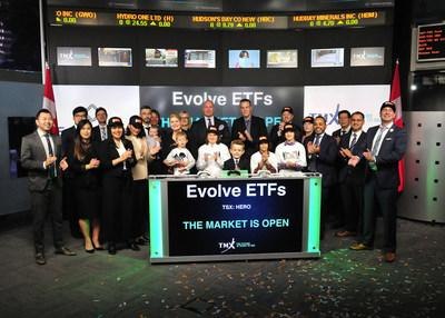 Evolve ETFs Opens the Market (CNW Group/TMX Group Limited)