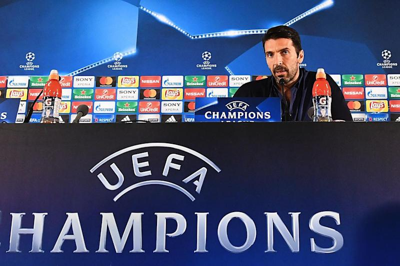 Respect | Gianluigi Buffon says Monaco are an unpredictable team: AFP/Getty Images