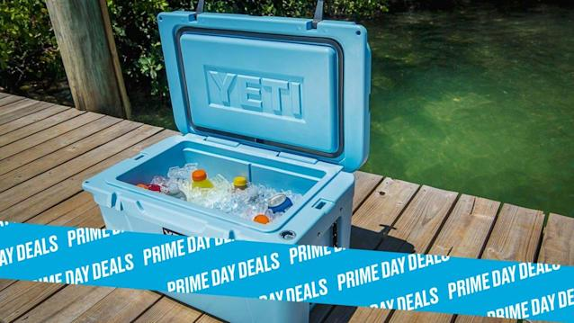 Photo Illustration by Elizabeth Brockway/The Daily Beast * YETI Coolers, $140-$255. * Up to three inches of insulation keeps ice from melting, styles include ice chests and portable packs * Shop the rest of our other Prime Day deal picks here. Not a Prime member yet? Sign up here.Lugging drinks to the beach only to find half of your ice melted is one of the worst parts of summer. YETI's coolers can keep your ice solid thanks to two-to-three inches of PermaFrost Insulation. Choose one of seven different styles of coolers, from hard to soft, and get 30% off for Prime Day. | Get it on Amazon >Let Scouted guide you to the best Prime Day deals. Shop Here >Scouted is internet shopping with a pulse. Follow us on Twitter and sign up for our newsletter for even more recommendations and exclusive content. Please note that if you buy something featured in one of our posts, The Daily Beast may collect a share of sales.Read more at The Daily Beast.Get our top stories in your inbox every day. Sign up now!Daily Beast Membership: Beast Inside goes deeper on the stories that matter to you. Learn more.