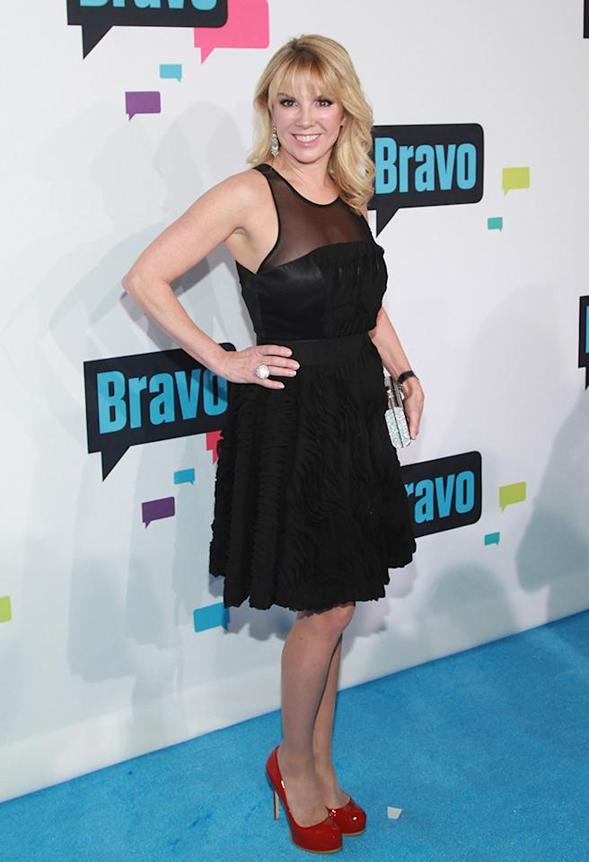 "NEW YORK, NY - APRIL 03:  TV personality Ramona Singer of ""The Real Housewives of New York"" attends the 2013 Bravo Upfront at Pillars 37 Studios on April 3, 2013 in New York City.  (Photo by Taylor Hill/FilmMagic)"