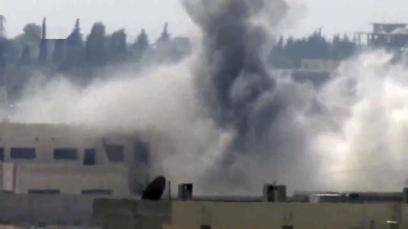 This image made from amateur video released by Shaam News Network and accessed Friday, June 29, 2012, purports to show shelling in Homs, Syria. (AP Photo/Shaam News Network via AP video) THE ASSOCIATED PRESS CANNOT INDEPENDENTLY VERIFY THE CONTENT, DATE, LOCATION OR AUTHENTICITY OF THIS MATERIAL